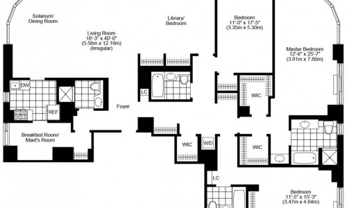 Four Bedroom Floorplan